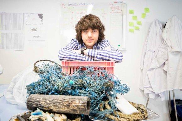 Boyan Slat from Ocean Cleanup